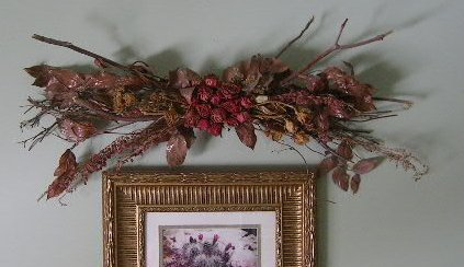 Twig Wall Decor unique silk floral wall decor
