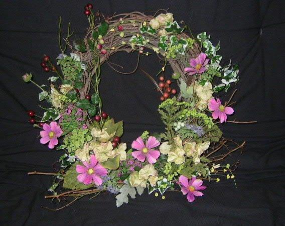 Silk floral wreaths wreath 3 mightylinksfo